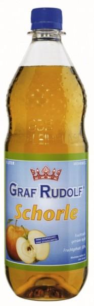 Graf Rudolf Apfelschorle PET (12 x 1 Liter)